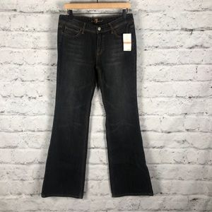 NWT 7 for all mankind Bootcut Jeans Sz 30